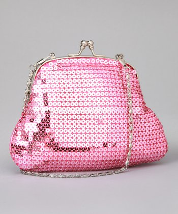 Rose Sequin Purse