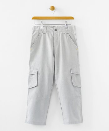 Rodney Linen Cargo Pants - Infant, Toddler & Boys