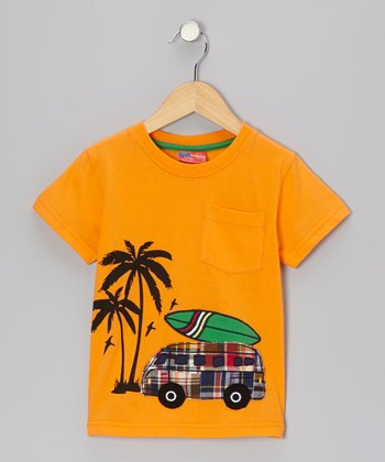 Orange Peel Surf Car Tee - Infant, Toddler & Boys