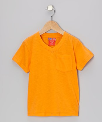 Orange Peel V-Neck Tee - Infant, Toddler & Boys