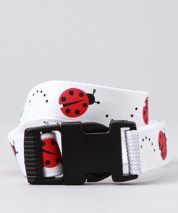 Red & White Ladybug Belt