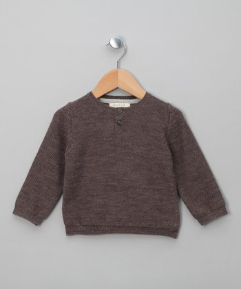 Chestnut Fabian Wool Sweater - Boys