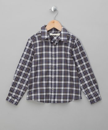 Olive Clanstone Freddie Button-Up - Boys