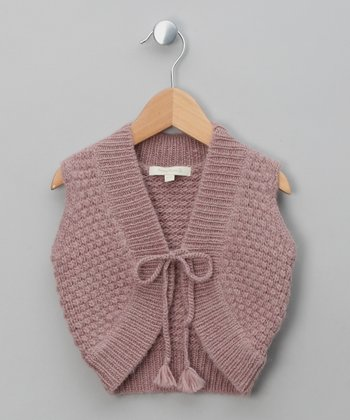 Mulberry Ganda Merino Vest - Toddler & Girls