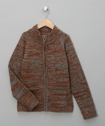 Brown Sugar Igor Merino Sweater - Toddler & Boys