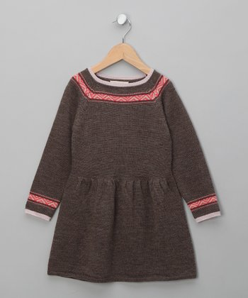 Cocoa Ina Merino A-Line Dress - Toddler & Girls
