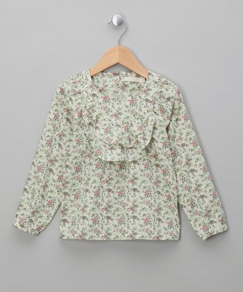 Floribunda Fauna Top - Girls