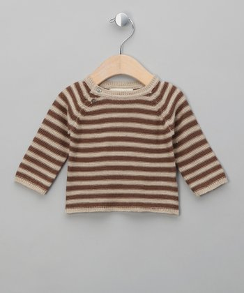 Cream & Fudge Gilbert Merino Sweater - Infant