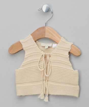Cream White Dreamy Pima Vest - Infant & Girls