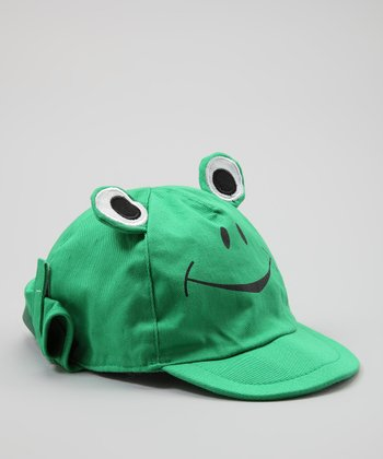 Tender Toes Green Frog Sunhat