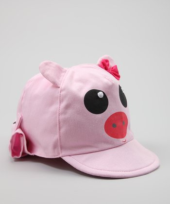 Tender Toes Pink Pig Sunhat