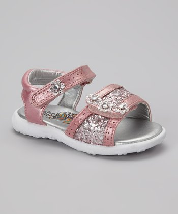 Pink Metallic Brielle Sandal
