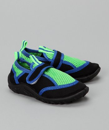 Black & Royal Water Shoe
