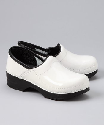 White Embla Original Professional Clog - Kids