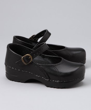 Black Marcelle Cabrio Original Clog - Kids