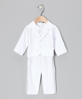 White Tux Bodysuit & Jacket - Infant