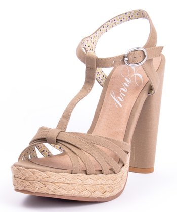 Sand Be Easy T-Strap Sandal