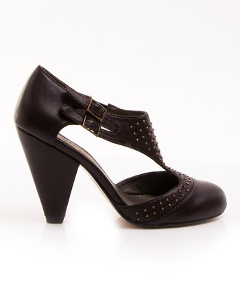 Dark Brown Hugs N' Kisses Pump