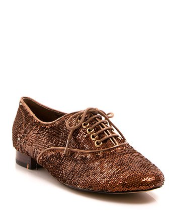 Bronze Sequin Salsa Oxford