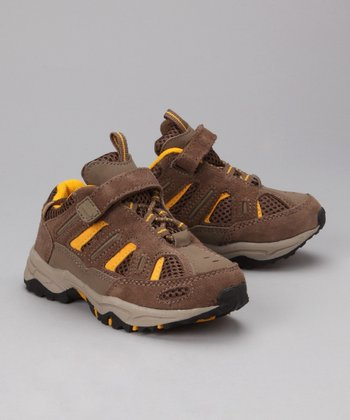 Brown Trailmaster Jr. All-Terrain Shoe - Kids