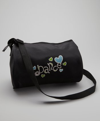 Black Little Miss 'Dance' Duffel Bag