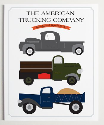 'The American Trucking Company' Wall Art