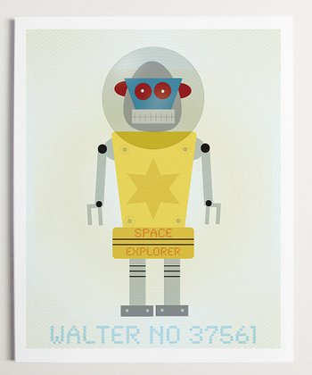 Walter Robot Wall Art