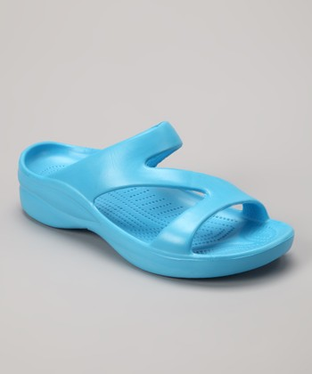 Peacock Blue Z Sandal