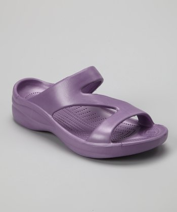 Purple Z Sandal