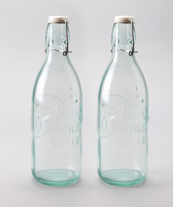 Milk Bottle - Set of Two