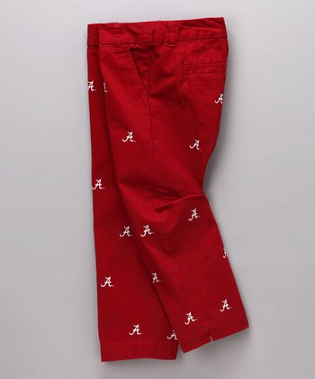 Crimson Alabama Capri Pants - Women