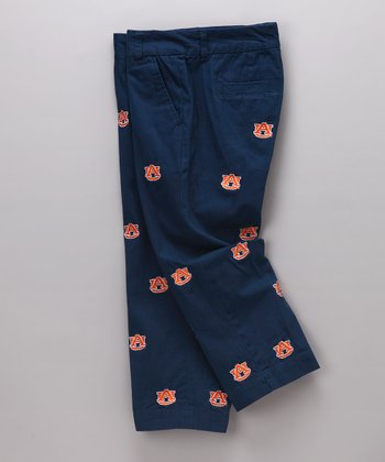 Navy Auburn Capri Pants - Women