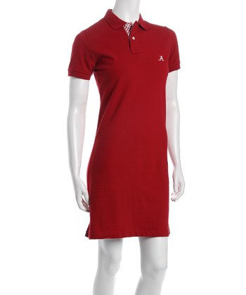 Crimson Alabama Polo Dress - Women