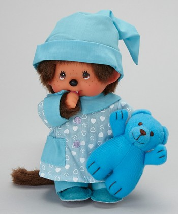 Pajama Boy Monchhichi Plush Toy
