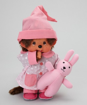 Pajama Girl Monchhichi Plush Toy