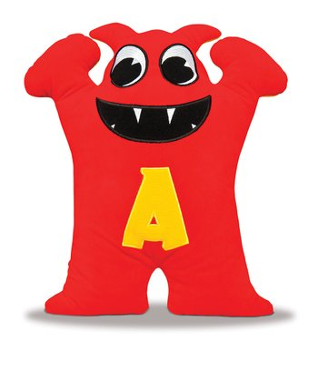 Red & Yellow Alphie Plush Toy