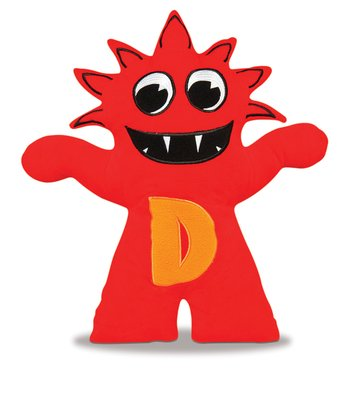Red & Orange Dadildoit Plush Toy