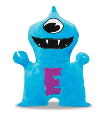 Blue & Purple Eioio Plush Toy