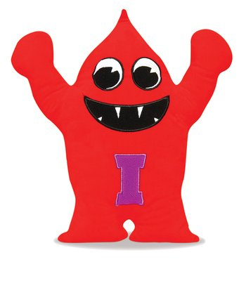Red & Purple Intooit Plush Toy