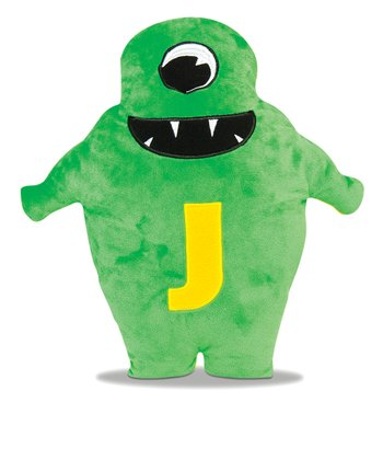 Green & Yellow Juno Plush Toy