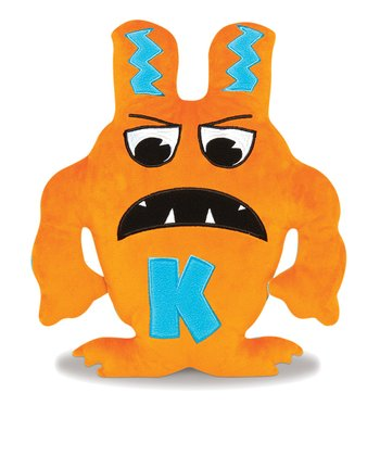 Orange & Blue Kliklak Plush Toy
