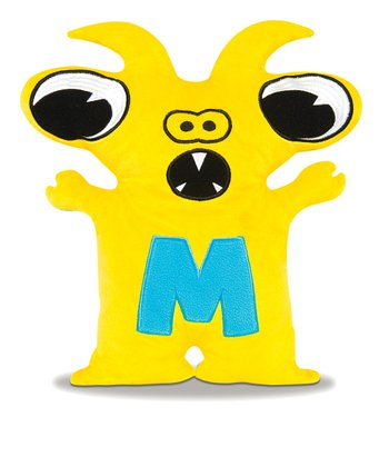 Yellow & Blue Moochi Plush Toy