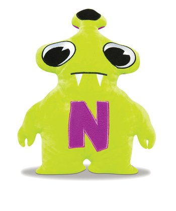Purple & Lime Nanonocci Plush Toy