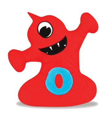 Red & Blue Obaboo Plush Toy