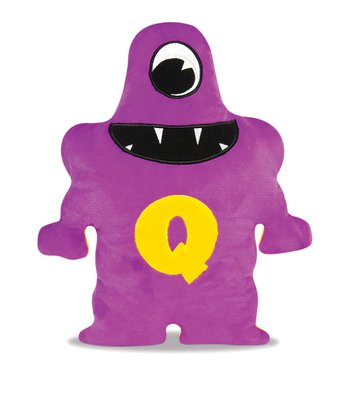 Purple & Yellow Quatto Plush Toy