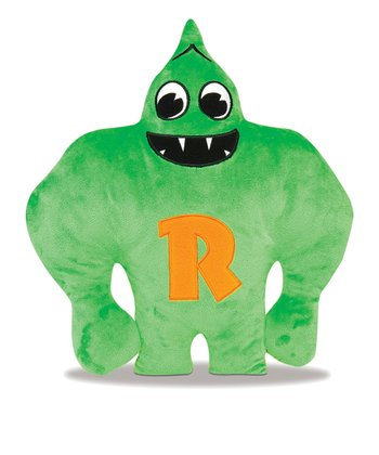 Green & Orange Robbletop Plush Toy