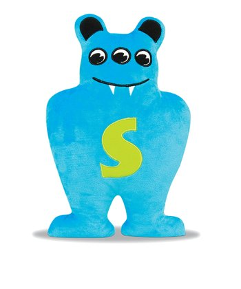 Blue & Lime Skibbles Plush Toy