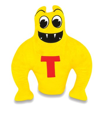 Yellow & Red Topsy-Turvy Plush Toy