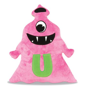 Magenta & Green Ubatoo Plush Toy