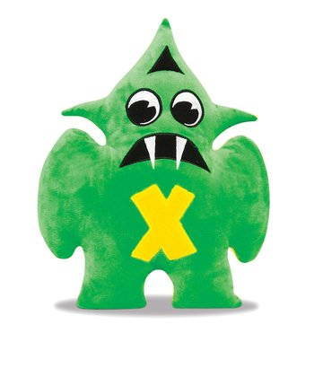 Green & Yellow Xylox Plush Toy